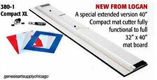 Logan 380-1 Compact XL Extended Mat Cutter 40 Inch NEW