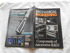 MECHANICAL ENGINEERING Magazine-DECEMBER,1987-COMPONENTS OF AUTOMOTIVE R&D