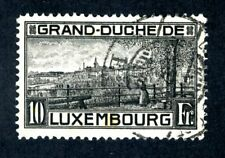 Luxembourg, Scott #152, View of Luxembourg, Used, 1923