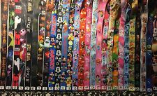 Disney Themed Lanyard Good For Pin Trading Neck Strap Vacation Includes ID Pouch