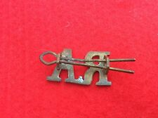 METAL MILITARY CAP BADGE UNIFORM BADGE RA ROYAL ARTILLERY
