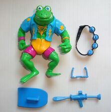 SBS Tortues Ninja Teenage Mutant Hero Turtle TMNT Genghis Frog 100% complet