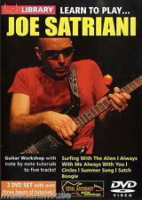 LICK LIBRARY Learn To Play JOE SATRIANI Surfing with The Alien Rock GUITAR DVD