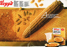 PUBLICITE ADVERTISING 034   1983   KELLOG'S  céréales  CRACKY NUT  ( 2 pages)