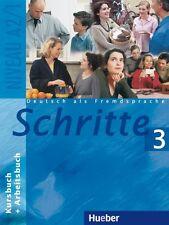 Schritte 3. Deutsch als Fremdsprache: Schritte 3. Kursbuch und Arbeitsbuch: Deut