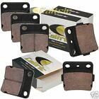 Brake Pads FITS YAMAHA WARRIOR 350 YFM350 1989-2004 Front Rear Brakes