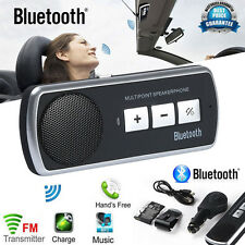 Bluetooth Car Kit Handsfree Speakerphone USB Multipoint Speaker for Cell Phone