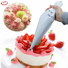 Big Size Reusable Cotton Icing Piping Pastry Bag Cake Cream Decorating Bag