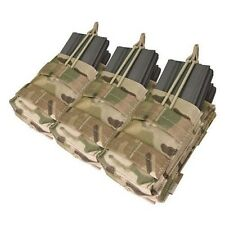 Condor MA44 Triple Tactical Mag Pouch MOLLE Crye MULTICAM 6x AR-15 5.56mm 223cal