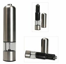 Stainless Steel Automatic Battery Operated Salt and Pepper Mill Muller Grinder
