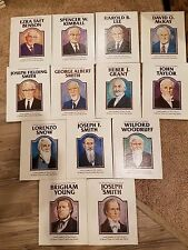 Illustrated Stories of the Presidents LDS Prophets, Rare Collectible 13 book Set