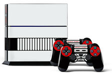 Skin Sticker for PS4 System Playstation 4 Console +2 Controller Decals CONT