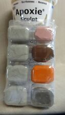 Apoxie Sculpt Modelling Clay Earth Color Kit Pink, Natural, Orange, Bronze