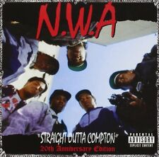 NWA STRAIGHT OUTTA COMPTON 5 EXTRA TRACKS 20th Anniversary Edition CD NEW