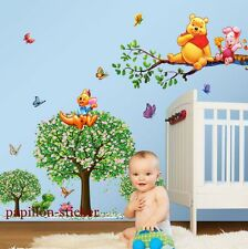 WINNIE The Pooh Farfalla ANIMALE ALBERO BAMBINO / KID Room Nursery parete Adesivo Decalcomania