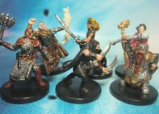 Dungeons & Dragons Miniatures Lot  Epic Player Character Party !!  s101