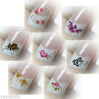 35 Nail Art Decal Water Slide Transfer Temporary Tattoos Stickers Wholesale
