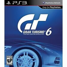 GRAN TURISMO 6 PS3 ACTION NEW VIDEO GAME