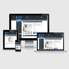 eBay Auktionsvorlage Aquino Blau Responsive Design HTML Template Vorlage