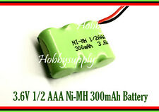 3.6V 1/2 AA Ni-MH 300mAh Rechargeable Battery w/. Universal for Cordless Phone