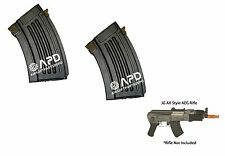 GE JG Golden Eagle Full Metal 280rd Hi-Cap Magazine for AK series Airsoft AEG x2