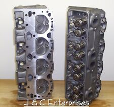 350 CHEVY 624 76CC CYLINDER HEADS 1986 & OLDER  EARLY 1.94 INTAKE NEW SPRINGS