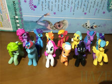 Set/13pcs  Colourful My Little Pony Cake Toppers Doll Action Figures Toy U931#