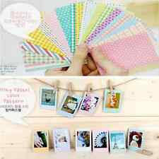 20x Masking Craft Photo Frame Decoration Stickers Tape Paper Mixed Colors
