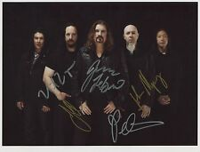 Dream Theater SIGNED Photo 1st Generation PRINT Ltd No'd + Certificate / 2