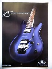 PUBLICITE-ADVERTISING :  Guitare PEAVEY HP Special Custom Shop  10/2009