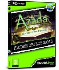 Azada Experience the Mystery Hidden Object Game - PC DVD - New & Sealed