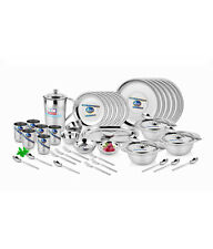 Airan 51Pcs Stainless Steel Gold Dinner Set HEAVYdutyqualityWith Vat Paid Bill