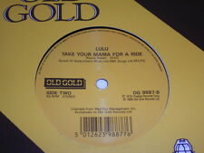 """7"""" - Lulu The Man who sold the World (David Bowie Coverversion) UK # 4959"""