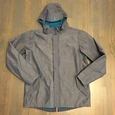 UNDER ARMOUR ColdGear UNCHAINED storm MNT Snowboard JACKET Gray Blue 2XL XXL