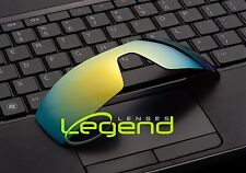 A56 GOLD POLARIZED Replacement Legend Lenses For Oakley OIL RIG