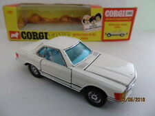 CORGI 393 MERCEDES BENZ 350SL with OPENING DOORS & BONNET - MINT CONDITION BOXED