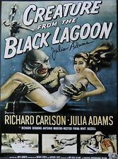 JULIA ADAMS Signed 16x12 Photo Proof THE CREATURE FROM THE BLACK LAGOON COA