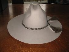 Renegade Cowboy Western Style Hat Size 7 1/8 57 The BIG Man's Hat, Khaki, U.S.A