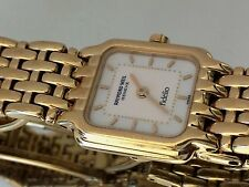 RAYMOND WEIL FIDELIO 18K Gold plated Ladies Luxury wrist watch.