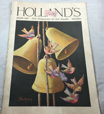 January 1936 Chimes of Janus Birds and bells Holland's Magazine