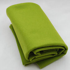 100% Wool Felt Fabric - 1mm Thick - Made in Europe - Yellow Green - 1/2m x 1.6m
