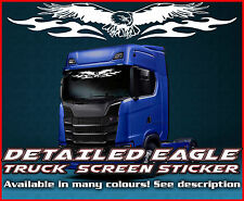 Eagle Lorry Truck wind screen sticker Glass Cab Window HGV MAN DAF SCANIA IVECO