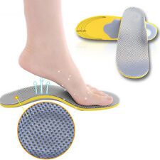 Foot care insole Sport shock absorbing soles Correction flatfoot arch supports