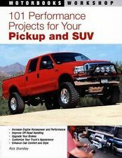 101 Performance Projects for Your Pickup and SUV (Motorbooks Workshop)-ExLibrary