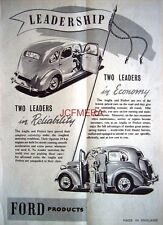 Ford ANGLIA & PREFECT 1952 Saloon Motor Cars AD #2 - Original Auto Print ADVERT