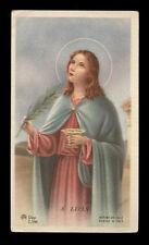 santino-holy card ediz.AR serie Z/184 S.LUCIA V.M.