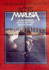 """""""ACTES DE MARUSIA (ACTAS DE MARUSIA)"""" Affiche originale (Gian Maria VOLONTE)"""