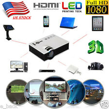 1800Lumens Full HD 1080P LED LCD VGA HDMI TV Home Theater Projector Cinema