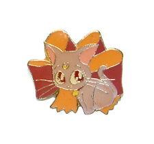 Sailor Moon Diana pin Luna Artemis grey cat gray kitten vintage Bandai Japan