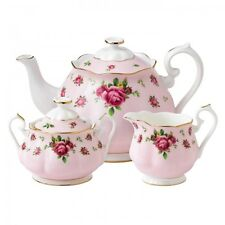 Royal Albert New Country Roses Pink 3Pc Tea Set